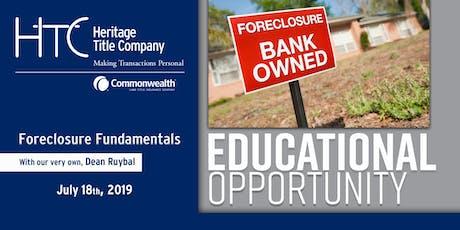 Foreclosure Fundamentals tickets