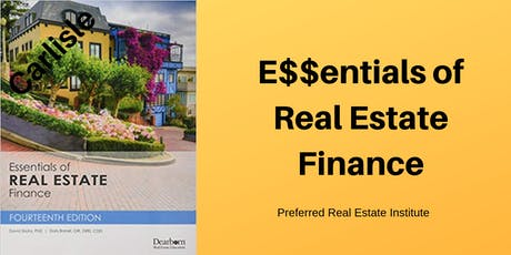 Broker Class-Real Estate Finance tickets