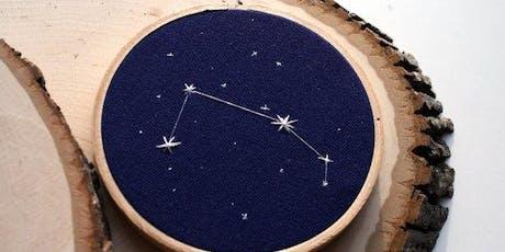 Van Gogh's Ear-Cross Stitch Constellations (middle/high school) tickets