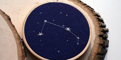 Van Gogh's Ear-Cross Stitch Constellations (middle/high school)