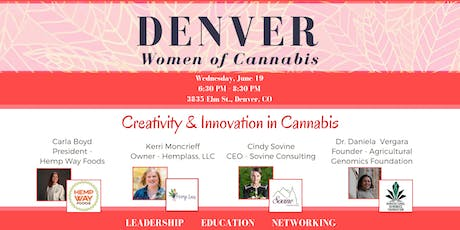 Denver Women of Cannabis - June Networking Event tickets
