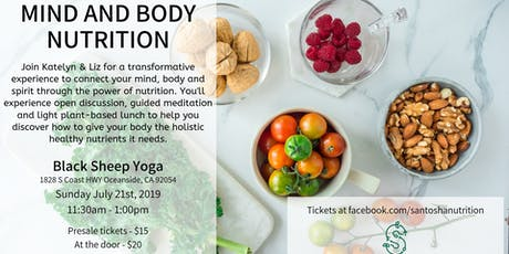 Mind & Body Nutrition tickets