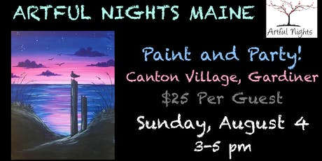 Paint N' Party at Canton Village Restaurant tickets