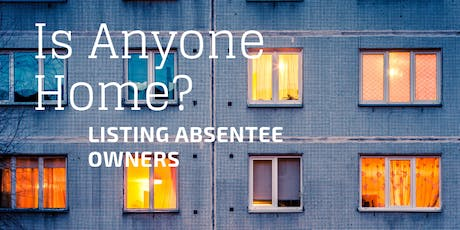 Listing Absentee Owners tickets