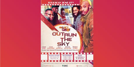 """Outrun the Sky"" screening tickets"