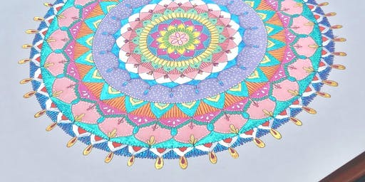 MINDFULNESS & MANDALAS | Drawing Class For Teenagers