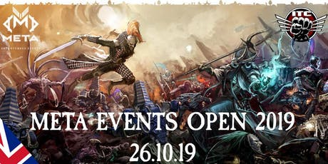 Meta Events Open 2019 - Warhammer 40k ITC Singles Event tickets