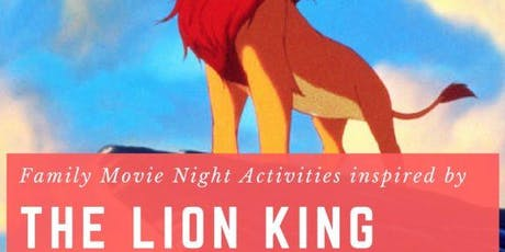 """Movie and Craft: """"The Lion King"""" tickets"""