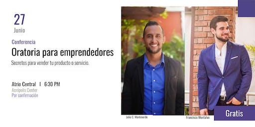 Conferencia: Oratoria para emprendedores