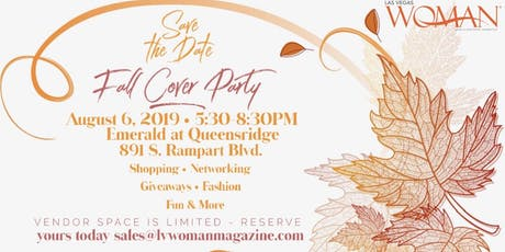 Las Vegas Woman Magazine Fall Issue Release Cover Party! tickets