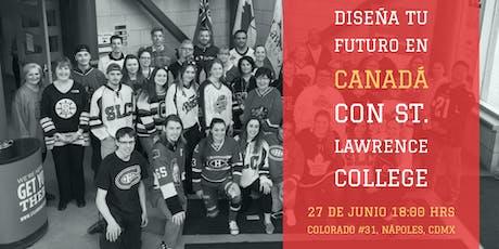 Diseña tu futuro en Canadá con St Lawrence College tickets
