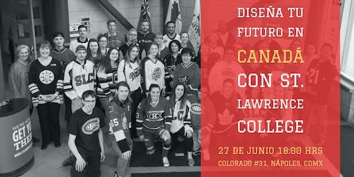 Diseña tu futuro en Canadá con St Lawrence College