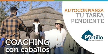 Autoconfianza taller de coaching con caballos entradas