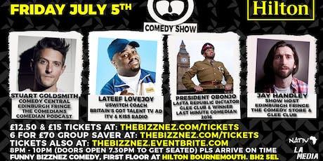 Funny Bizznez Comedy, Hilton Bournemouth tickets
