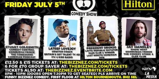 Funny Bizznez Comedy, Hilton Bournemouth