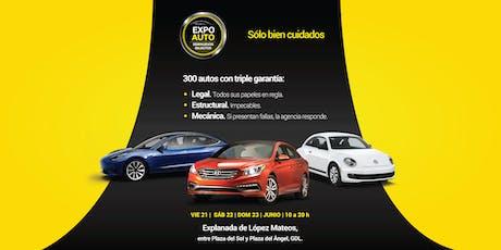 Expo Auto Seminuevos Selectos entradas
