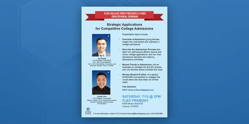 FLEX Fremont: Strategic Applications for Competitive College Admissions