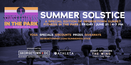 Georgetown Summer Solstice: Free Outdoor Yoga Series tickets