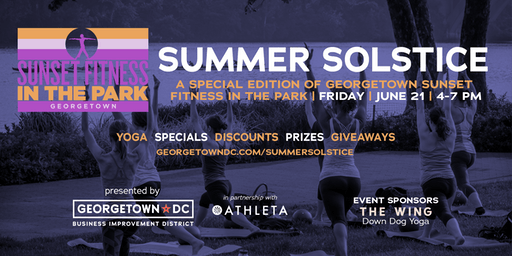 Georgetown Summer Solstice: Free Outdoor Yoga Series
