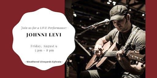 Johnni Levi LIVE at Weathered Vineyards Ephrata