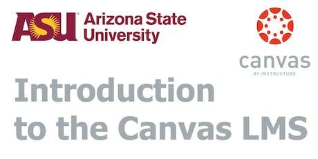 Canvas Training - Advanced (Tempe) tickets