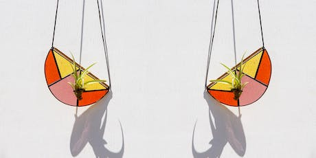 Stained Glass Hanging Air Plant Holder Workshop @ MILLWORKS tickets