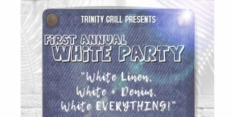 1ST ANNUAL WHITE PARTY tickets