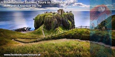 Stonehaven, Dunnottar Castle and Aberdeen Day Trip Sun 26 Jan