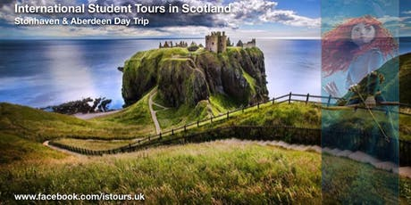 Stonehaven, Dunnottar Castle and Aberdeen Day Trip Sun 26 Jan tickets