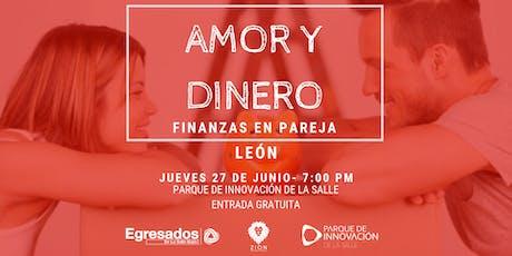 Conferencia Amor Y Dinero: Finanzas En Pareja entradas