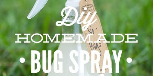 DIY Natural Bug Repellent with Essential oils
