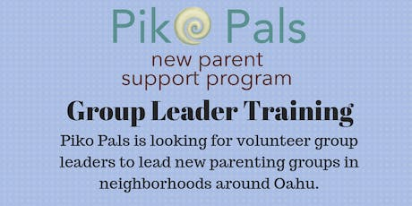 Piko Pals Group Leader Training tickets