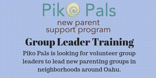 Piko Pals Group Leader Training