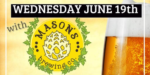 Beer Dinner with Mason's Brewing Company