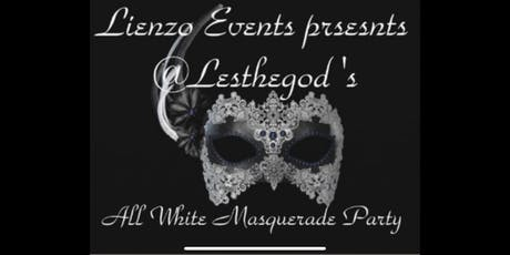 All White Masquerade party tickets
