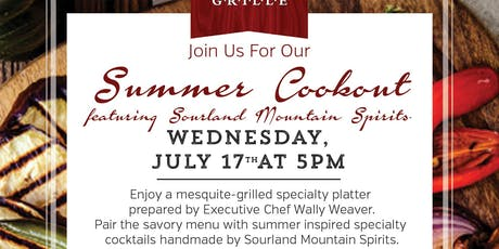 SCG Cookout with Sourland Mountain Spirits tickets