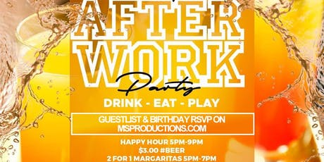 Free Afterwork into night Party in Uptown tickets
