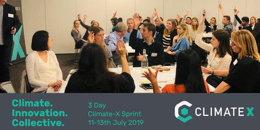 Climate-X Sprint 2019 July 11-13