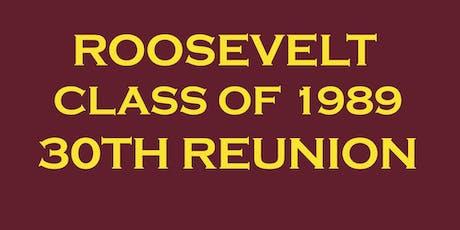 Roosevelt Class of 1989- 30 Year Reunion! tickets