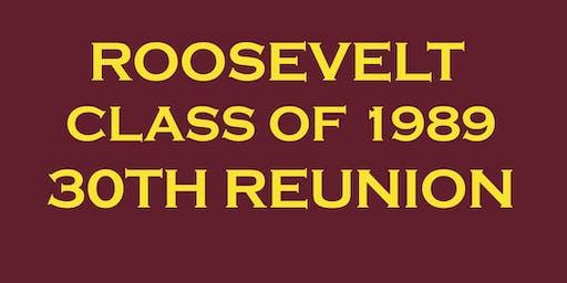 Roosevelt Class of 1989- 30 Year Reunion!