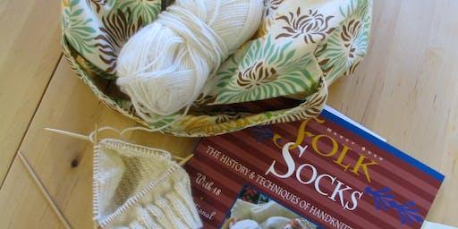 FREE Sit 'n Knit Social