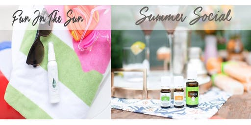 Essential Oils for Summertime Fun & Socializing