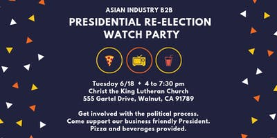 AIB2B Presidential Watch PARTY!