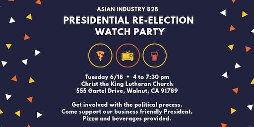 AIB2B Presidential Watch PARTY!