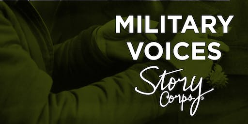 StoryCorps Military Voices Listening Party