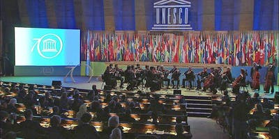 For Members of Youth Orchestras - Rehearsal of World Orchestra for Peace