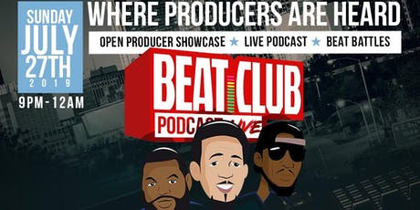 The Beat Club Podcast - Live tickets