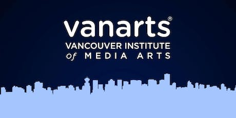 Webinar - Vancouver Institute of Media Arts (VanArts)  Tickets