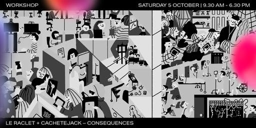 Workshop | Le Raclet + Cachetejack x Graphic Days Torino