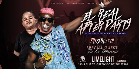 """EL REAL AFTER PARTY Hosted By: """"ATUEDAD"""" & PIO LA DITINGANCIA -Fri/July/19 tickets"""
